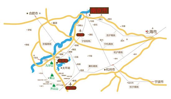 安徽黄山太平湖风景区