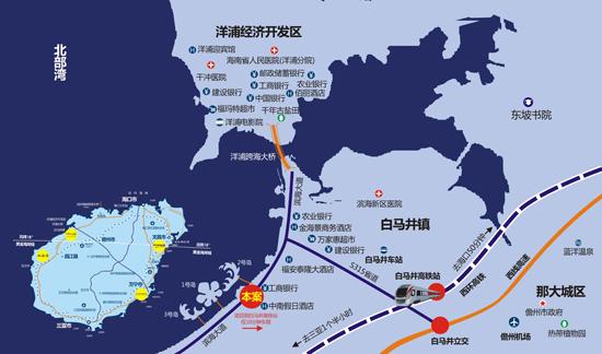 中南西海岸位于海南省儋州