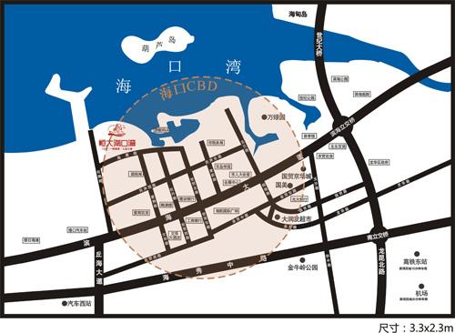 项目均价: 10500元/﹐ 项目简介: 恒大·海口湾,位于海口市龙华区杜鹃