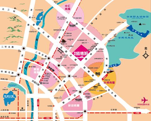 盛唐地图全图高清版