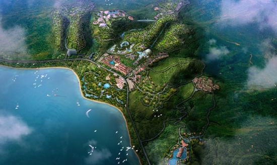 抚仙湖东北侧,集海洋大世界,梦幻大世界,动物大世界,化石博物馆,滨湖