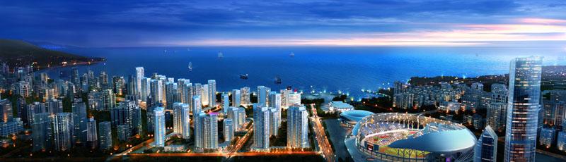 商业,养老,产业地产 项目地址: 辽宁省葫芦岛市龙港区313海滨浴场西行