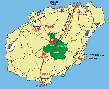 阳江森林公园 平面图