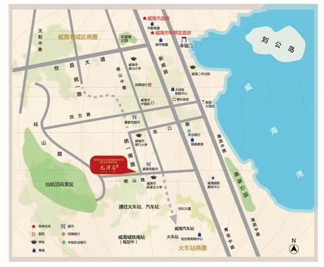 项目类型:  旅游,商业,养老,产业地产 项目地址: 山东省威海市环翠区