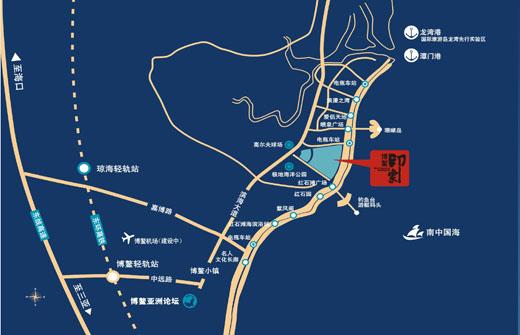 8公里直达环岛高铁站,15分钟领享博鳌机场全球空网