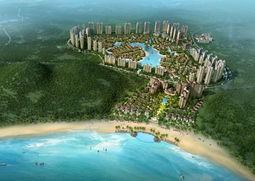 旅游,商业,养老,产业地产 项目地址: 海南三亚清水湾赤岭风景区