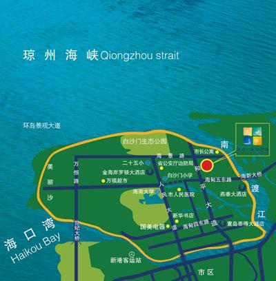 蔚蓝群岛的地图